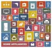 Electrodomésticos — Vector de stock