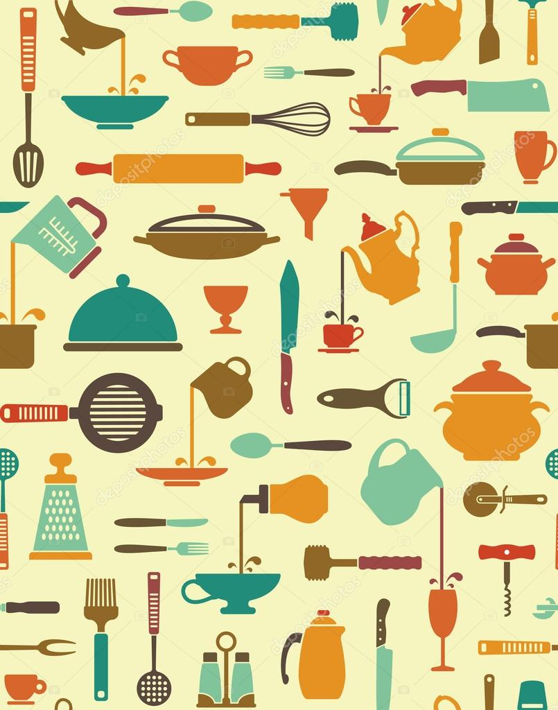 Kitchen Utensils Background kitchen utensils background