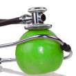 Stethoscope and apple — Stock Photo #13257579