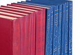La fila di libri — Foto Stock