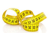 Measuring tape of the tailor — Stock Photo
