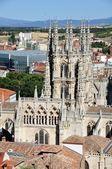 Catedral de burgos — Foto Stock