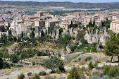 Aerial view of Cuenca, Spain — Stockfoto