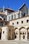 Inside yard of Convent of Burgos, Spain — Stock Photo