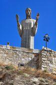 Standbeeld van christus — Stockfoto