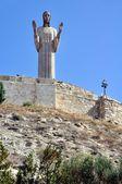 статуя христа — Стоковое фото