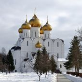 The Uspensky Cathedral — Stock Photo