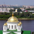 Russian Church in Summer — Stock Photo