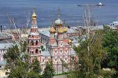 Ruská církev v létě — Stock fotografie