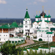 Russian Monastery in Summer - Stockfoto