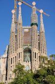 Katedralen la sagrada familia i barcelona — Stockfoto