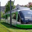 Tramway in Bilbao, Spain - Stock Photo