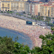 Постер, плакат: Crowded Beach of San Sebastian
