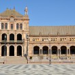 Plaza de Espana in Seville, Spain - Stockfoto