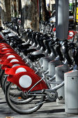 Tourist bikes in Sevilla, Spain — Stock Photo