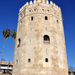 Torre del Oro in Sevilla, Spain - Stock Photo