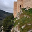 Santa Catalina Castle in Jaen, Andalusia, Spain - Stock Photo