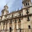 Cathedral in Jaen, Spain. - Stock Photo