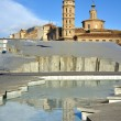 Church in Zaragoza, Spain - Stock Photo