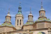 Katedral pilar zaragoza, i̇spanya — Stok fotoğraf