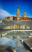 Kyrkan i zaragoza, Spanien — Stockfoto