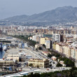 Stock Photo: Aerial view of Malaga, Spain