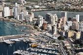 Aerial view of Calpe — Stockfoto