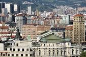Aerial view of Bilbao — Fotografia Stock