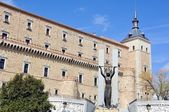 Alcazar of Toledo, Spain — Stock Photo