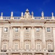 Stock Photo: Palacio Real in Madrid, Spain