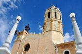 Catedral de sitges, españa — Foto de Stock
