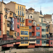 Colorful houses of Girona, Spain — Stock Photo