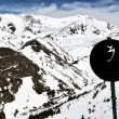 Foto de Stock  : Winter Resort Vall de Nuria