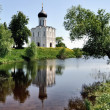 Stock Photo: Church of Intercession on Nerl River Golden Ring Russia
