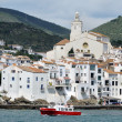 Stock Photo: Seaside city Cadaques, Catalonia, Spain