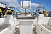 Cpckpit der yacht — Stockfoto