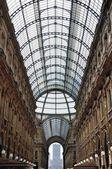 Galleria Vittorio Emanuele II, Italy — Stock Photo