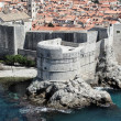 Stock Photo: Aerial view of Dubrovnik