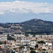 Aerial view of Volcano in Cholula — Stock Photo #30261893