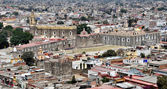 Aerial view of Cholula — Stock Photo