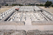 Aerial view of Tula ruins, Mexico — Stock Photo