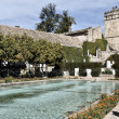 Garden of Alcazar Palace in Cordoba, Spain — Stock Photo