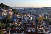 Aerial view of Lisbon, Portugal — Stock Photo