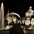 Cibeles Fountain in Madrid, Spain — Stock Photo