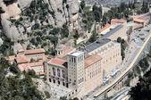 Монастырь Монтсеррат, Испания — Стоковое фото