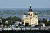 Russian Church in Summer — Stock Photo
