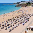 Albufeira Beach in Algrave, Portugal — Stock Photo