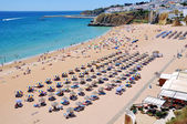 Albufeira Beach in Algrave, Portugal — Foto de Stock
