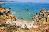 Camilo Beach in Algrave, Portugal — Stock Photo