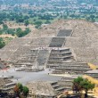 Teotihuacan Pyramids, Mexico — Stock Photo